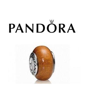 Pandora Muiracatiara Wood Charm